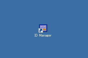 「ID Manager」ショートカット